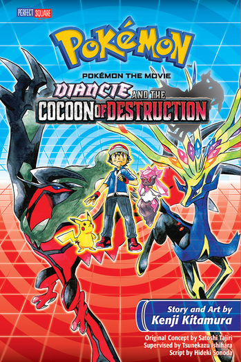 Diancie and the Cocoon of Destruction Manga
