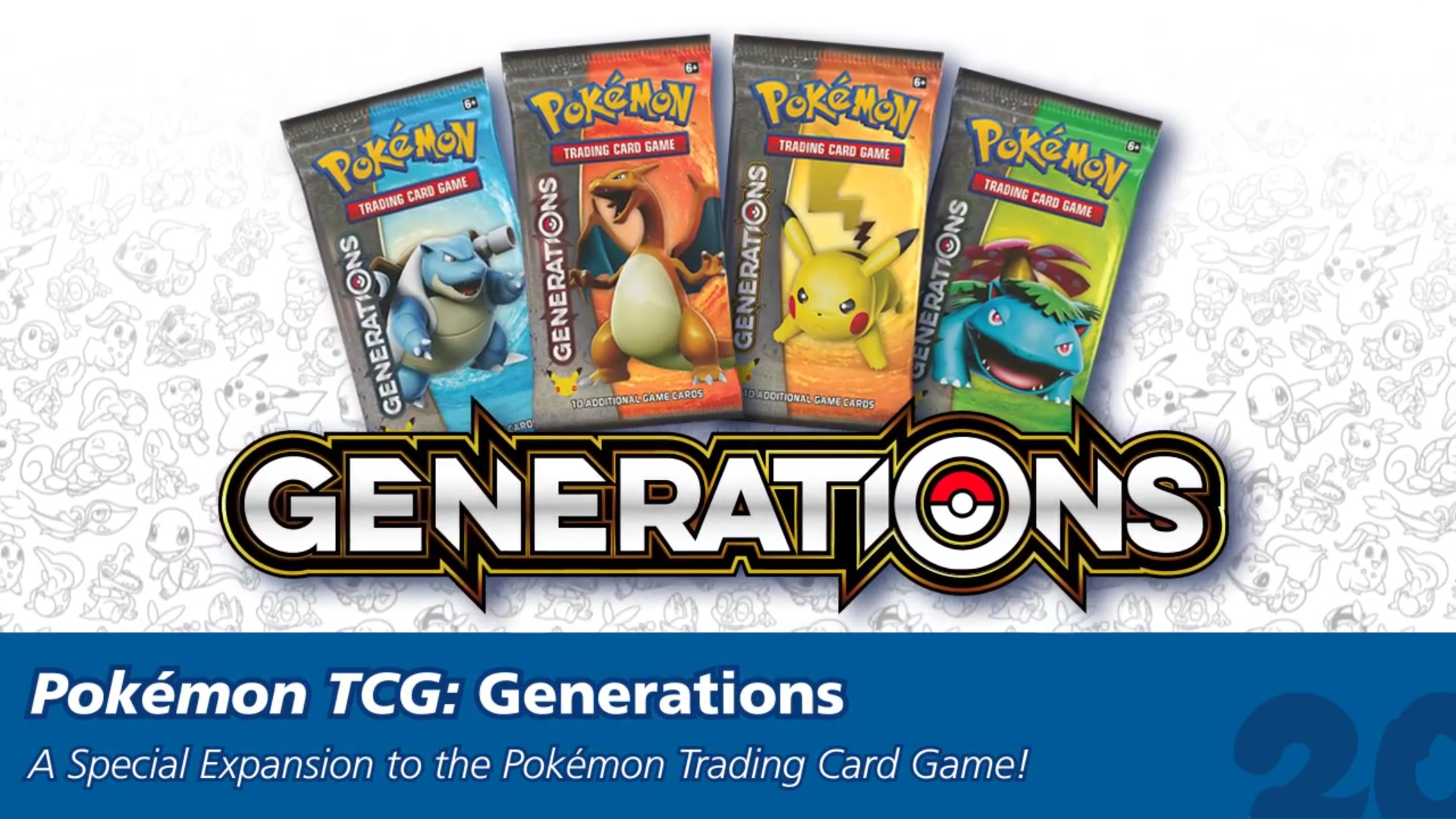 how to get pokemon generations packs