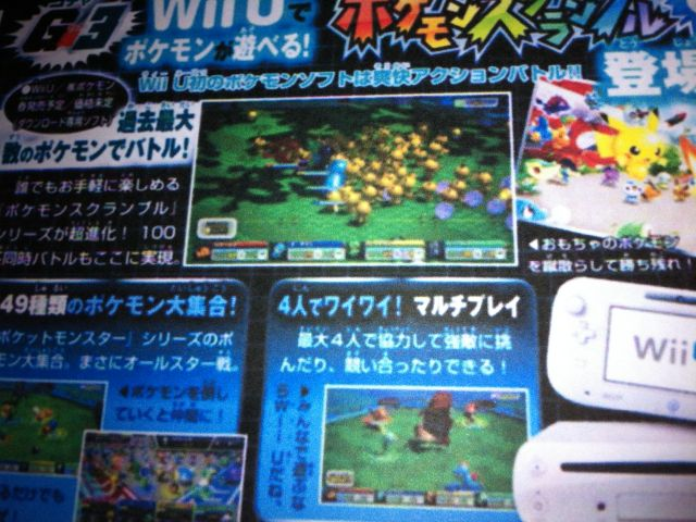 CoroCoro Pokemon X and Pokemon Y