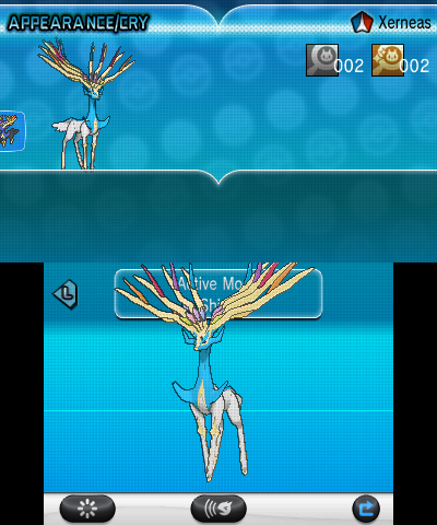 Shiny Xerneas Active Mode