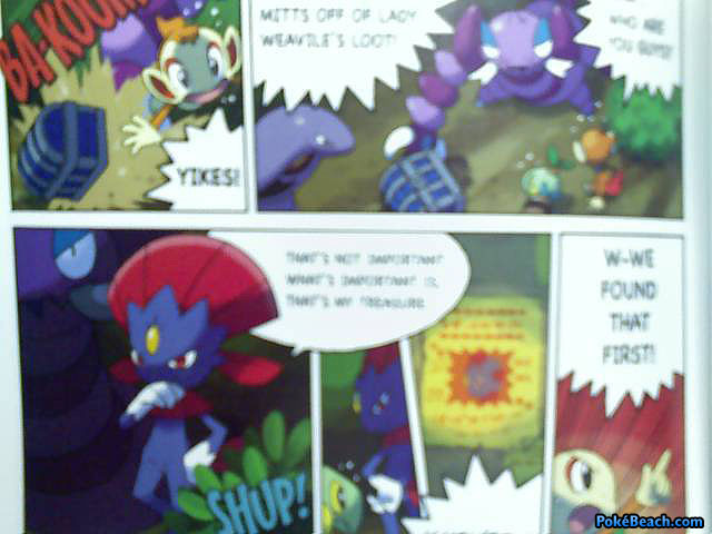 Mystery Dungeon 2 Explorers Guide comic