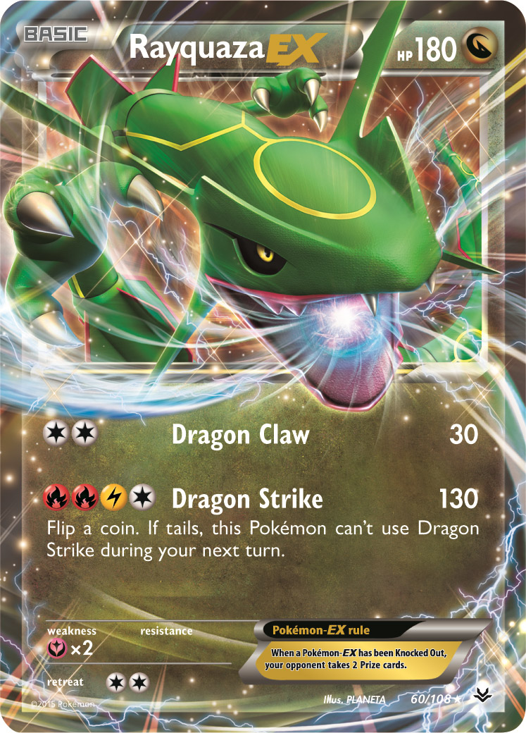 Rayquaza-EX, M Rayquaza-EX, and Double Dragon Energy from ...