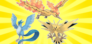 Articuno, Zapdos, Moltres Downloads in May