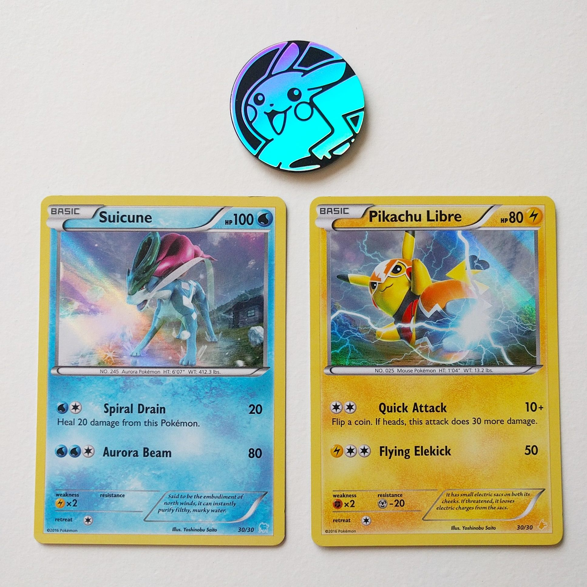 Xy Trainer Kit Pikachu Libre And Suicune Product Images