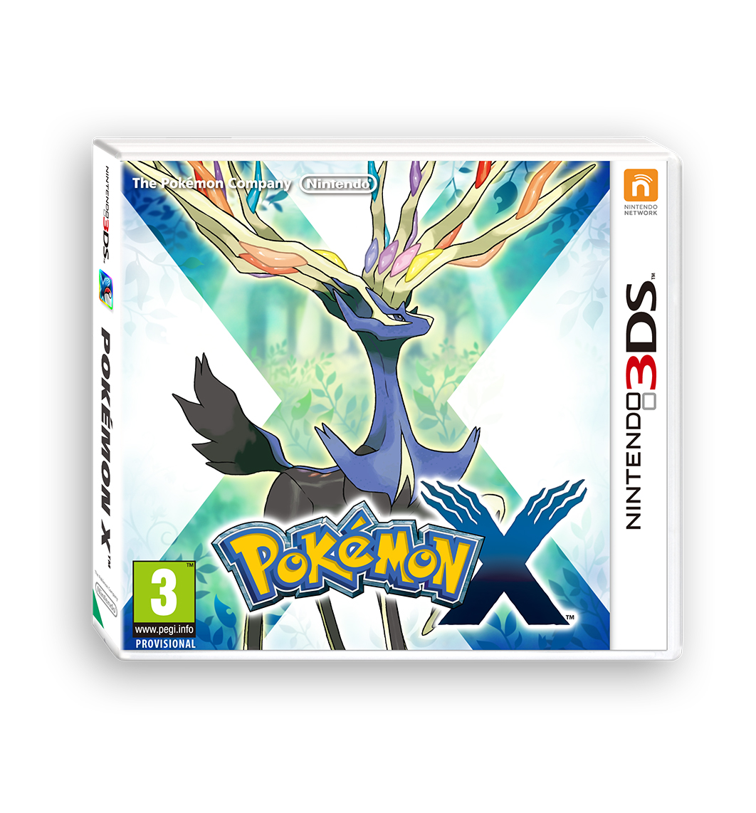 Pokemon X Boxart