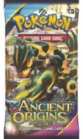 Ancient Origins Shiny Primal Groudon Booster Pack