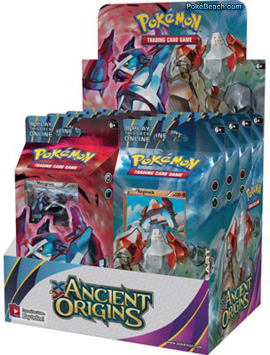 Ancient Origins' Booster Pack, Theme Deck Images - PokéBeach
