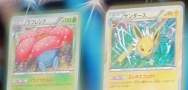 Vileplume, Jolteon, and Paint Roller from 'Bandit Ring!'