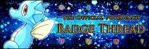 Pokébeach Badges