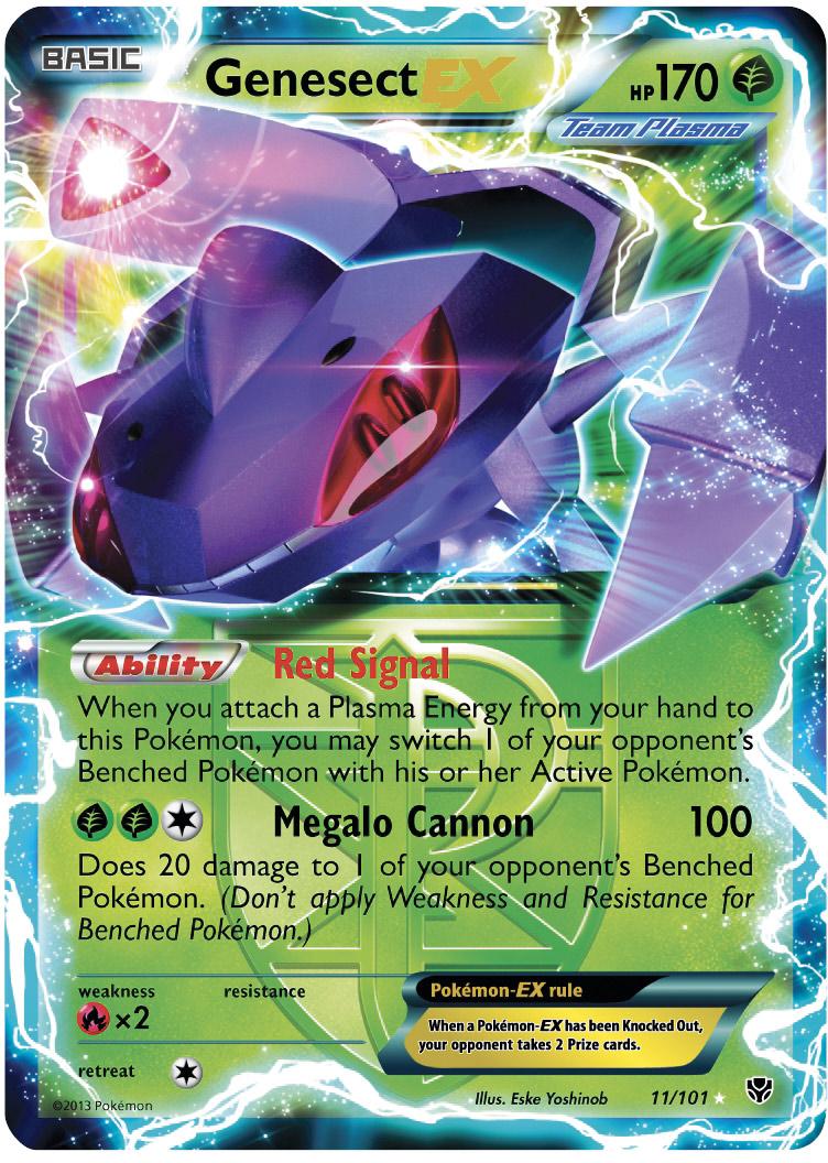 First 14 plasma blast card images revealed pok beach - Carte pokemone ex ...