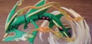 Mega Rayquaza Figure and XY64 Rayquaza Released!