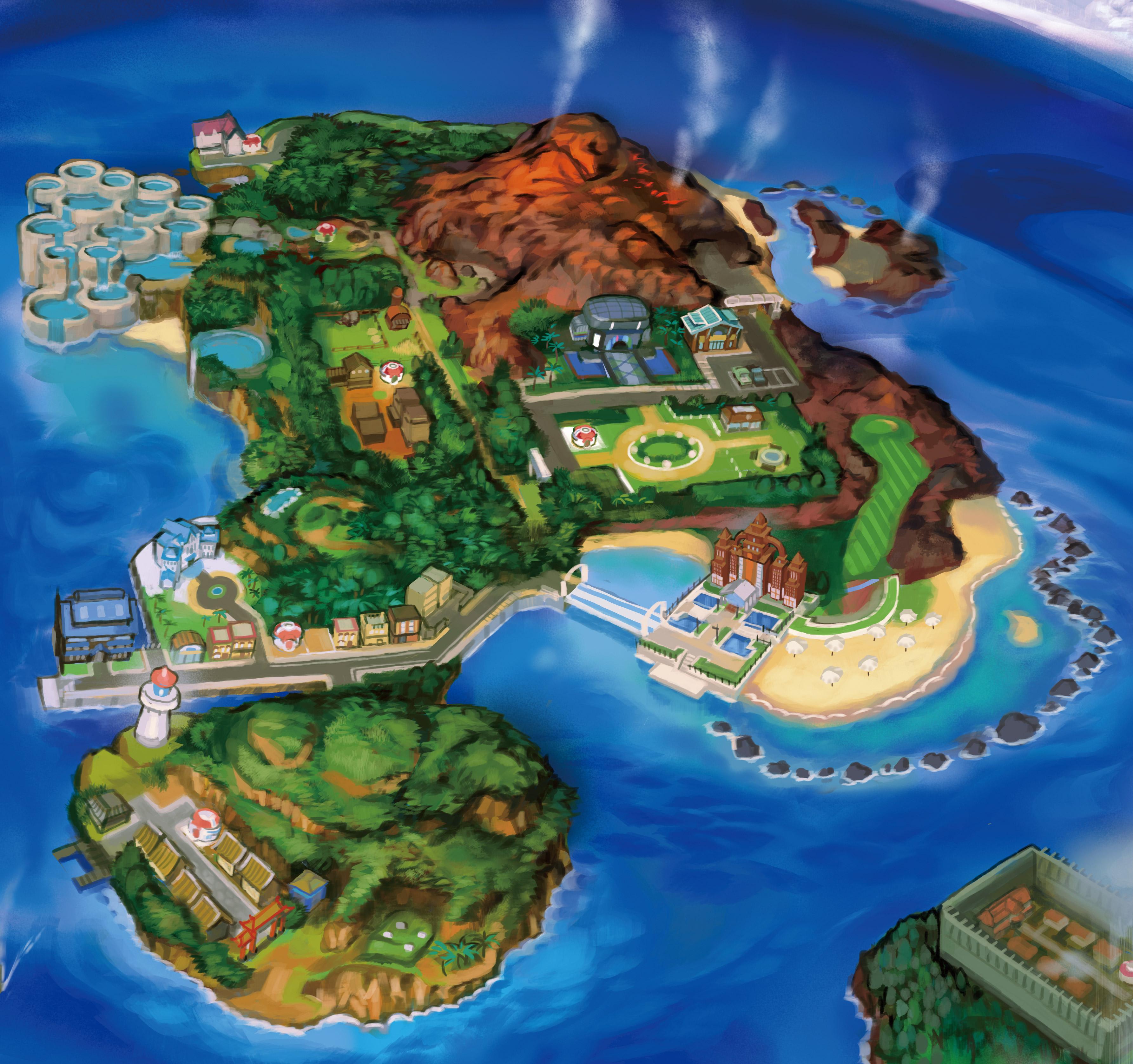 pokemon y map with Pokemon Lune Soleil Analyse Du Trailer Du 02 06 16 on Chicas De  pras 02 besides plete Rail Map in addition 913 Pokemon Soleil Et Pokemon Lune La Region Dalola together with Mapa general moreover Hoopa Pokemon Pokedex 720.