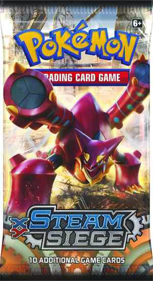 Nouveautés Cartes Pokémon Steam-Siege-Volcanion-Booster-Pack-1