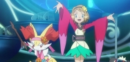 XY79 'Braixen and Pancham!! A Captivating Fiery Performance!!'