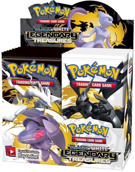 Legendary Treasures Booster Box