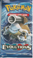 Evolutions Mega Blastoise Booster Pack