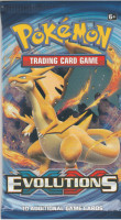 Evolutions Mega Charizard X Booster Pack