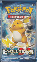 Evolutions Raichu Booster Pack