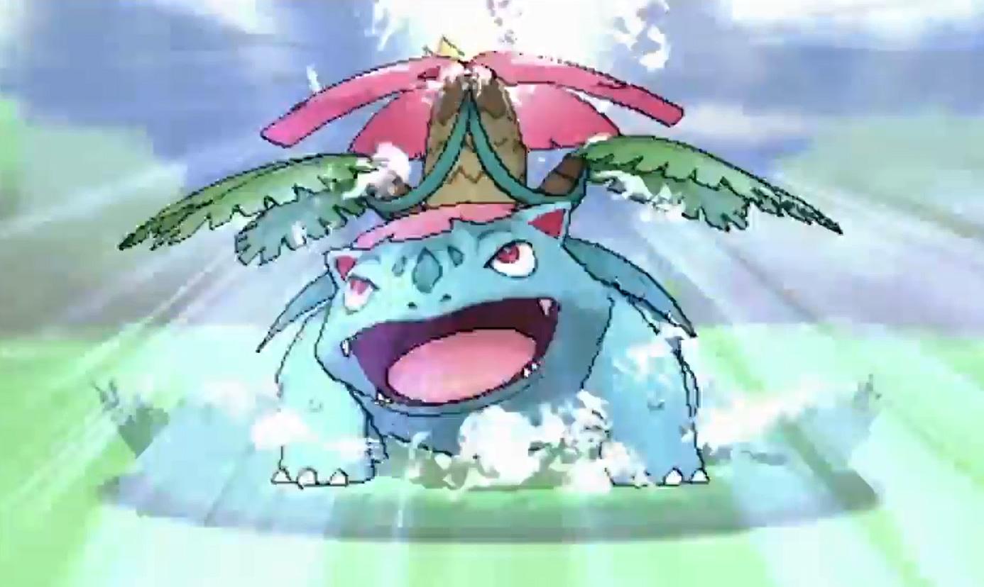 pokemon kanto starters mega - photo #29