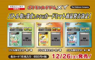 XY Break Battle Strengthening Set