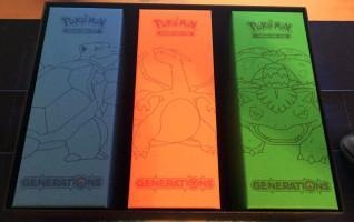 Blastoise Charizard Venusaur Boxes Super Premium Collection