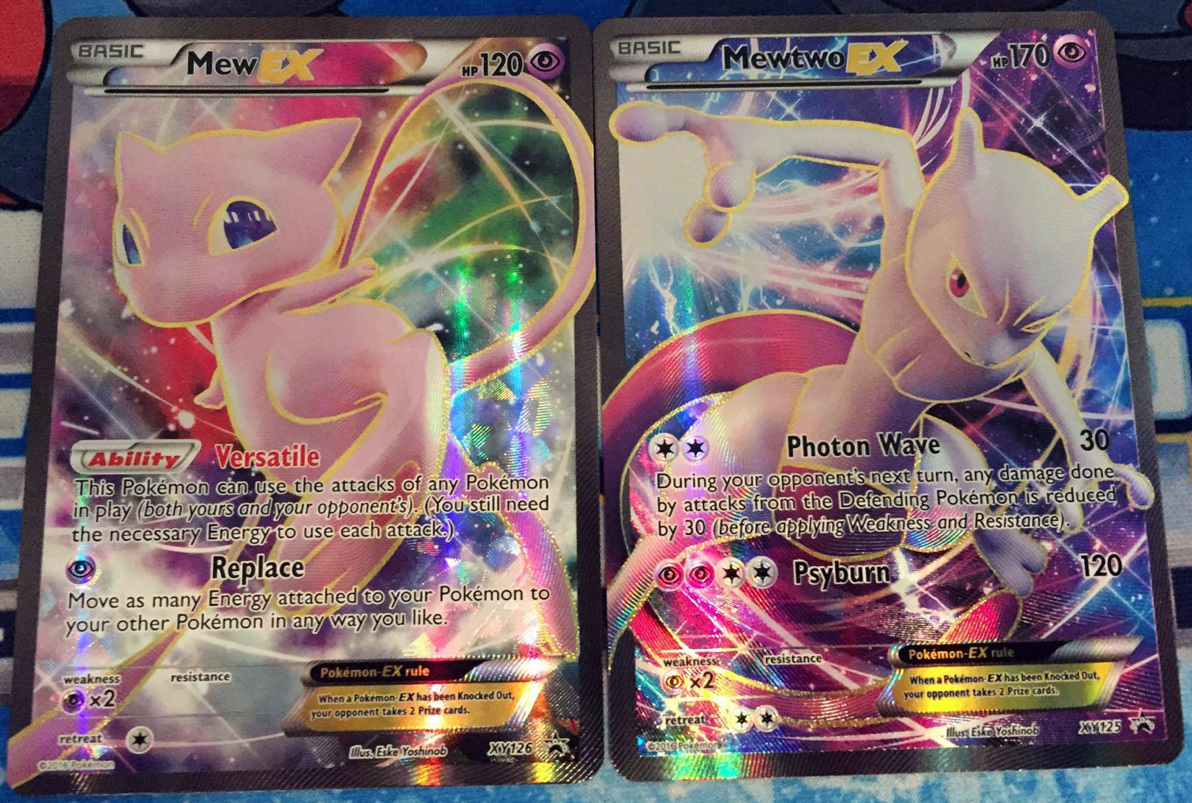 pokemon super premium collection mew and mewtwo now at barnes