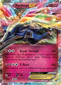 Xerneas-EX from XY