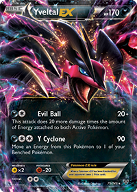 Yveltal-EX from XY