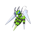 Mega Beedrill (Shiny) in Omega Ruby and Alpha Sapphire