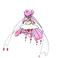 Mega Diancie in Omega Ruby and Alpha Sapphire