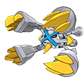 Mega Metagross (Shiny) in Omega Ruby and Alpha Sapphire