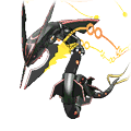Mega Rayquaza (Shiny) in Omega Ruby and Alpha Sapphire