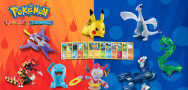 Pokemon Toys and Cards in McDonald's Happy Meals in November
