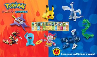 McDonalds Pokemon Toys Cards