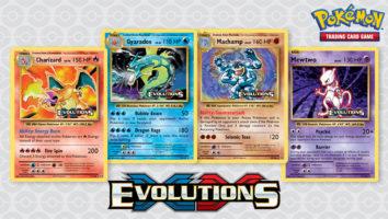 Charizard Gyarados Machamp Mewtwo Evolutions Promos