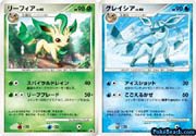 Leafeon and Glaceon Winter Challenge Promos