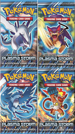 Plasma Storm Booster Packs