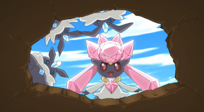 Diancie, Princess of the Diamond Domain
