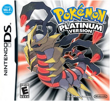 Pokemon Platinum English Box Art